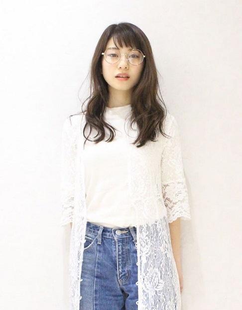 ツヤのある髪で透明感UP☆色白美肌に魅せるヘアカラー10選