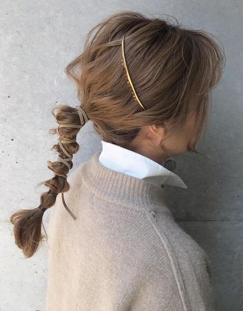 ヘアコームで、こなれ感アップ♪簡単アイテムで、ワンランク上のヘアスタイルを目指しちゃおう!