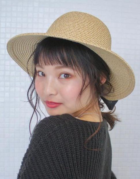 オシャレに紫外線対策◎帽子に合わせたいヘアアレンジ