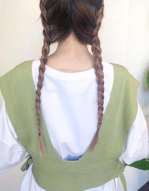 三つ編み=おさげはもう古い!三つ編みでできるヘアアレンジ特集