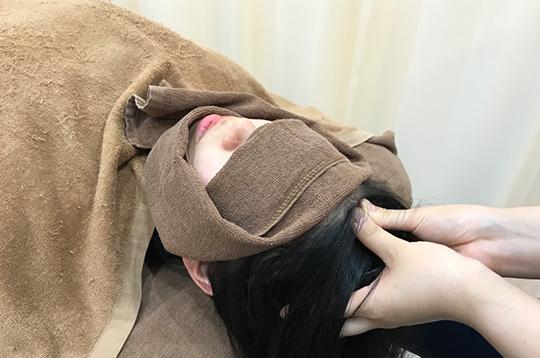 ヘッドスパ+首肩すっきり爽快マッサージ【施術時間25分】