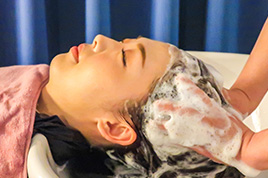 【頭皮すっきり洗浄】頭皮クレンジング×ぐっすり良眠ヘッドスパコース【施術時間60分】