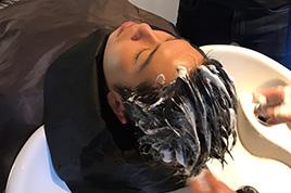 高濃度炭酸ヘッドスパ【黒炭】(炭酸泉+頭皮スキャルプフレックス)【施術時間15分】