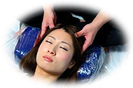 頭蓋骨矯正セラピー30分(首、肩、耳、自律神経付き)【施術時間30分】