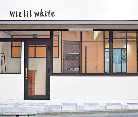 wiz lil white(ウィズリルホワイト)