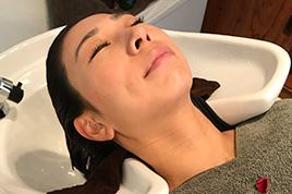 髪育&頭皮改善・癒しの贅沢水素水ヘッドスパ