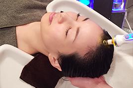 抜け毛・薄毛改善&身体疲労除去!アンチエイジングヘッドスパ