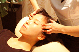 ドライヘッドスパコース 【施術時間50分】(頭・眼周り・首肩・デコルテ)